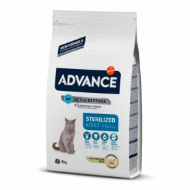 Advance Sterilized Adult con pavo 15 KG