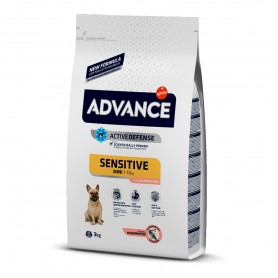 Advance Mini Sensitive (Salmón) 7,5 KG