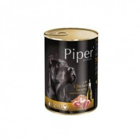 PIPER - Pollo y arroz integral 400gr