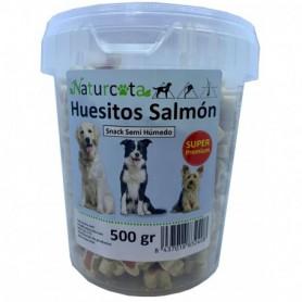 Huesitos Salmón 500gr - Naturcota