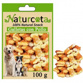 Galletas con Pollo 100gr - Naturcota