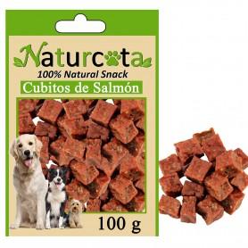 Cubitos de Salmón 100gr - Naturcota