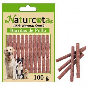 Barritas de Pollo 100gr - Naturcota
